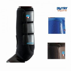 SPORT MEDICINE BOOTS PREMIER EQUINE AIRTEQUE FRONT AND HIND SINGLE LAYER
