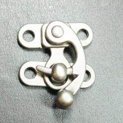 CLASP SWING ANTIQUE NICKLE SMALL 29X25MM