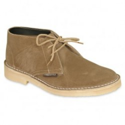 HUNTER UNISEX SUEDE KHAKI VELLIE VELDSKOON