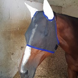 FLY MASK WITH EAR POCKETS