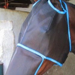FLY MASK WITH EAR HOLES AND NOSE FLAP