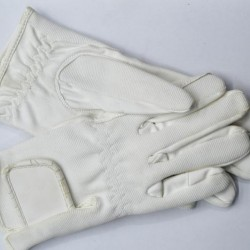 EQUISPORT GLOVES WHITE SMALL