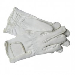 EQUISPORT GLOVES WHITE XTRA LARGE