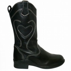 COWBOY BOOTS FREESTYLE BUNDU BLACK CALF LINING