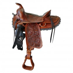 ELPASO WESTERN SADDLE available in black and brown colour