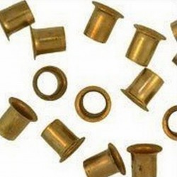 COPPER RIVETS PACKET OF 100 WITHOUT WASHERS