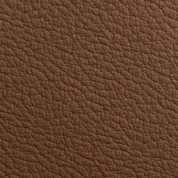 LEATHER UPHOLSTERY HIDE MID BROWN  PER DM