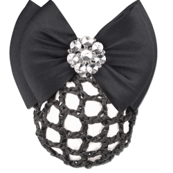 HAIRNET | BUN NET WITH DECORATIVE BOW AND CLASP CODE 708312