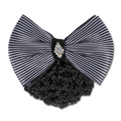 HAIRNET | HAIR NET FEATURING A CLASSY BOW WITH CLASP PRODUCT NO. 708501