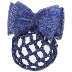 HAIRNET | BUN NET  KNOTTED  WITH RIBBON AND CLASP PRODUCT NO. 7481005