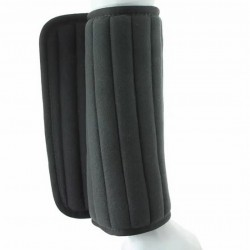 BANDAGE PADS SET OF 4 BLACK COLOUR