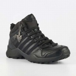 URBAN ART BOLT1 WAX BLACK BOOT LACE UP