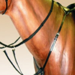 BREASTPLATE Y TYPE LEATHER FAC