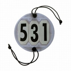BRIDLE NUMBERS SOFT ROUND TYPE  COMPETITION