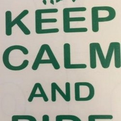 BUMPER STICKERS KEEP CALM AND RIDE ON