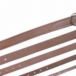 DOG COLLAR NATURAL LEATHER
