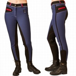 EQUILEISURE WOVEN INSIGNIA BREECHES