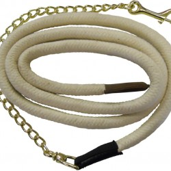 LEAD ROPE BRAIDED 30MM WITH CHAIN