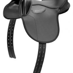 SADDLE PINOCHIO PONY BLACK 14 INCH WIDE FIT