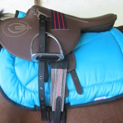 SADDLE EXERCISE SYNTHETIC FITTED  SOLO