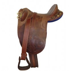SADDLE STOCKMAN NO HORN FITTED 17 INCH
