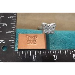 STAMP LEATHERCRAFT TOOL BUTTERFLY DESIGN Z 788